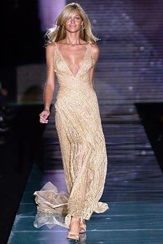 Elie Saab Spring 2003 Couture Fashion Show - Ana Beatriz Barros (SILENT), Elie Saab