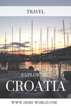Exploring and cycling around Croatia