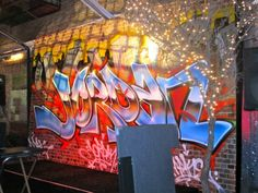 The Graffiti Street of New York…Bar Mitzvah | Mindy Weiss Party Planner Blog