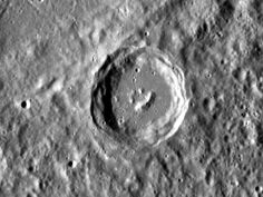 Mooola !   NASA - Happy Little Crater on Mercury