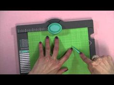 The New Envelope Punch Board - YouTube