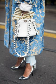 A round up of the must-have bags spotted on the streets of New York Fashion Week—all of which you can buy now at Barneys.