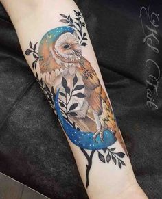 owl tattoo ~ owl tattoo _ owl tattoo design _ owl tattoo for women _ owl tattoo drawings _ owl tattoo men _ owl tattoo small _ owl tattoo for women small _ owl tattoo sleeve Trendy Tattoos, Love Tattoos, Beautiful Tattoos, Body Art Tattoos, Girl Tattoos, Tattoos For Guys, Awesome Tattoos, Tattoo Ink, Arm Tattoo