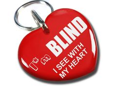 Service Dog Id Red Heart I'm Blind * You can get more details by clicking on the image.