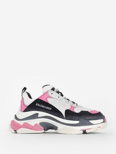 0f064bb9c7 Valentino - Lace sneakers - Valentino's colour-blocked sneakers are ...