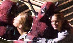 Blake Lively kisses Ryan Reynolds on Deadpool 2 set Blake Lively Ryan Reynolds, 0 Image, 2 Set, Kisses, True Love, Deadpool, Cute, Fictional Characters, Real Love