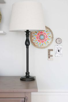 Design a nursery on a budget with 10 quick and easy DIY Projects, all made by upcycling affordable thrift store finds! #nursery #diy #baby Budget Nursery Ideas | Baby Girl Nursery | DIY Girl Nursery on a Budget Modern Kids Bedroom, Modern Nursery Decor, Vintage Nursery, Nursery Design, Budget Nursery, Nursery Ideas, Bedroom Ideas, Playroom Ideas, Bedroom Decor