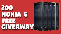 (154 Left) 200 Nokia 6 Free GiveAway || 100 watchers Must