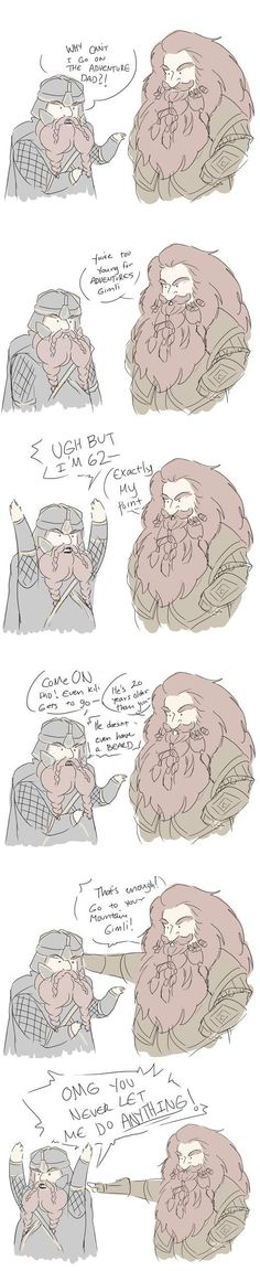 Gimli and Gloin
