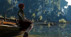 The night was fun, but Shani is pensive and sad in the morning. Geralt cannot provide her with what she wants.