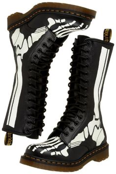 Favourite pair of Doc Martens Limited Edition ever owned, always on my feet and like a big kid I love the fact that they glow in the dark. I love to see onlookers literally stop dead in their tracks to have a good gander! And they're mine....allllll minnne!