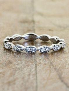 Love! Wedding Bands - Hers | Ken & Dana Design