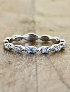 Love! Wedding Bands - Hers | Ken & Dana Design