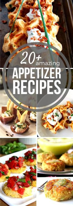 Appetizers, hors d'oeuvres, canapés, finger foods, tapas-- no matter what name you give them, small bites are the ideal food for entertaining guests! Whether you're looking to serve a handful of people or several rooms full, our Sunday Supper Small Bites Recipes for Entertaining have got you covered. These Sunday Supper Appetizer Recipes take the stress out of your meal plan!