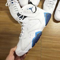 "Air Jordan VII ""French Blue"" (January 2015) Photos"