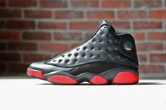 online retailer c5bb8 c3c42 Air Jordan 13 Retro Black Red