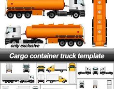 """Check out new work on my @Behance portfolio: """"Cargo Vehicles Template Set"""" http://be.net/gallery/48427719/Cargo-Vehicles-Template-Set"""