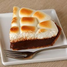 Silky S'more Pie