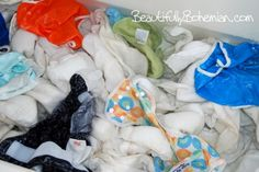How to naturally strip cloth diapers!