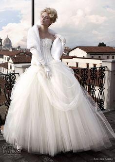 Atelier Aimee Wedding Dresses  For a winter wedding