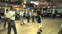 Linedance lesson Stroll Along Cha Cha  choreo. rodeo cowboys