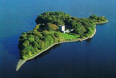 Loch Leven Castle, Scotland. The only way to get to this castle is by boat. It is most famous for being the prison of Mary, Queen of Scots.