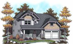 Plan #70-953 - Houseplans.com