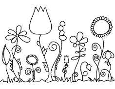 Resultado de imagem para desenhos de floresta para desenhar