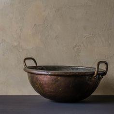 アンティーク_銅鍋