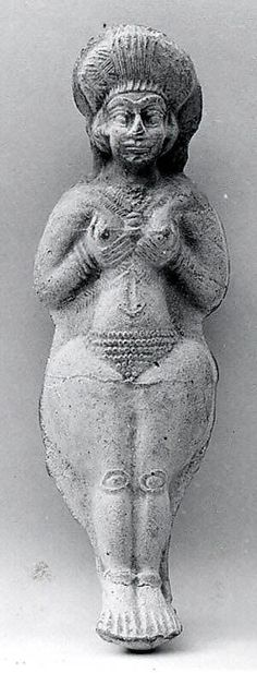 Female figure Period: Middle Elamite Date: ca. 1500–1100 B.C. Geography: Iran, possibly from Susa Culture: Elamite @themetmuseum.org