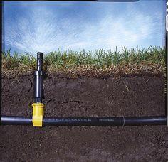 How to Install a Sprinkler System - Installing an Underground Sprinkler System - Popular Mechanics