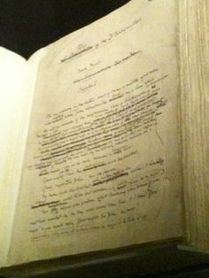 Tess of the D'Urbervilles - In Thomas Hardy's hand. See it at the British Library = in Treasures