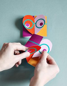 Smallful printable Valentines card - school class valentines for kids