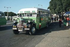 """Old Maltese bus, photo taken by Peter Ashton. You had to sit in one of these things, especially at the back, to truly understand the meaning of """"Old Maltese bus."""""""