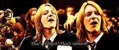 Always, ALWAYS stay on the Weasley twins' good side. | 27 Secrets Hogwarts Students Won't Tell You