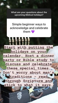 Questions and Answers about the Biblical Holidays of Tabernacles, Yom Teruah, and Yom Kippur   Land of Honey Yom Teruah, Yom Kippur, Question And Answer, No Worries, Honey, Bible, Study, Holidays, Sayings