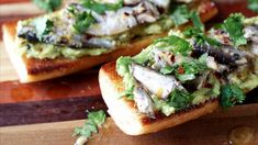 Sardine and Avocado Toast – Gluten Free Menu, Always Hungry, Bagel, Avocado Toast, Healthy Eating, Healthy Food, Food To Make, Health And Wellness, Appetizers