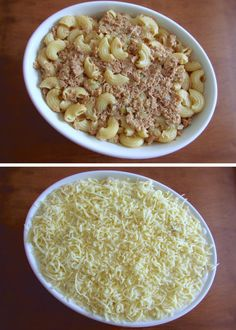 Massa com atum gratinada no forno   Food From Portugal Molho Béchamel, Portuguese Recipes, Food Inspiration, Macaroni And Cheese, Oatmeal, Beans, Yummy Food, Vegetables, Breakfast