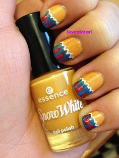 Never mind Suzi: Disney Nail Art Challenge - Snow White