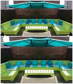 Here we are bringing you the latest pallet ideas for home decor that will make your home delicate and full of glamor in appearance.DIY Pallet Outdoor Sofa