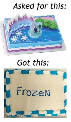Cake Decorating Gone Bad : Cakes on Pinterest Cake Wrecks, Cake Fail and Redneck ...