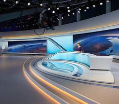 the al jazeera network studio building in doha by veech x veech