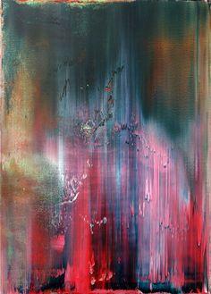 Philipp Karcher- #467: Technical Study Like Gerhard Richter (2012) - Acrylic on canvas