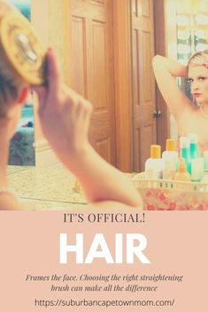 With so many hair straightening brushes on the market how do you decide which to buy? I've got the answer for you right here! #productreview #haircare Hair Brush Straightener, Hair Straightening, You Are Perfect, Brushes, Hair Care, Personal Care, Face, How To Make, Blog
