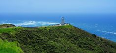 Lighthouse at Cape Reing, New Zealand