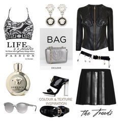 """""""The Trends"""" by nicolevalents ❤ liked on Polyvore featuring Versus and Versace"""
