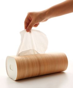 Sandalwood Tissue Box - Eco Keepers Collection - Dot & Bo