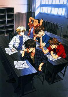 My crazy school Gundam boys lol 😆❤️❤️👍🏻👍🏻 Old Anime, Anime Manga, Anime Art, Gundam Wing, Gundam Art, Heero Yuy, Yu Yu Hakusho Anime, Gundam Iron Blooded Orphans, Gundam Wallpapers