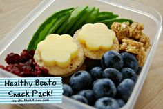 Bento Box Kids Snack from @Sarah Chintomby Chintomby Platanitis of sarahinthekitchen.com