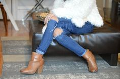 Love these neutral booties from Rag & Bone!